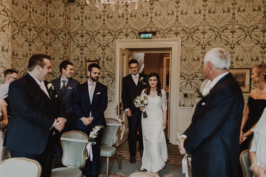 A small intimate wedding at The Shelbourne Hotel | Grainne & James 33