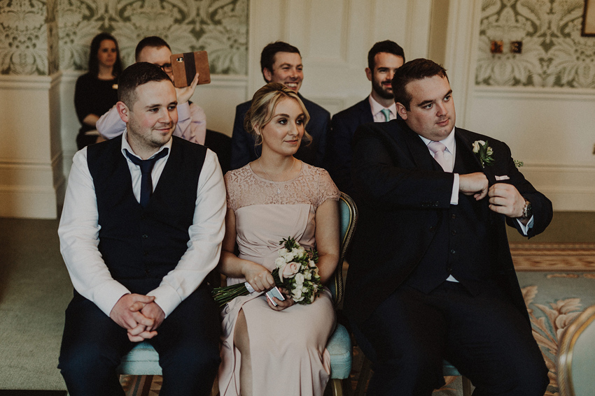 A small intimate wedding at The Shelbourne Hotel | Grainne & James 36
