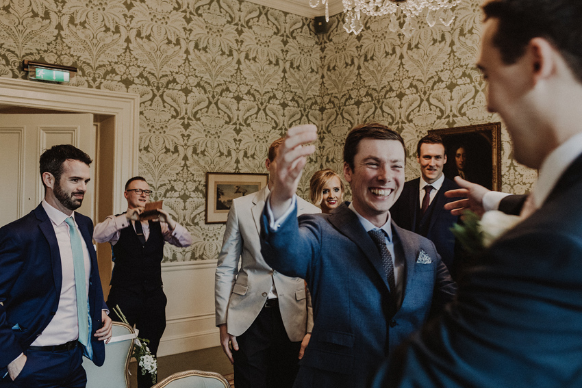 A small intimate wedding at The Shelbourne Hotel | Grainne & James 42
