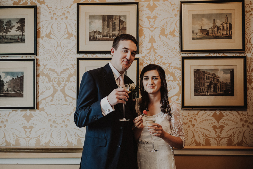 A small intimate wedding at The Shelbourne Hotel | Grainne & James 45