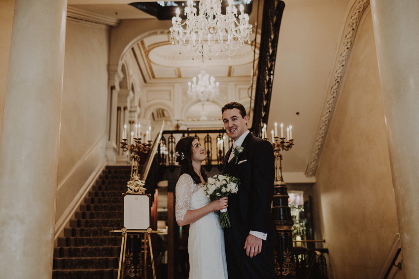 A small intimate wedding at The Shelbourne Hotel | Grainne & James 47