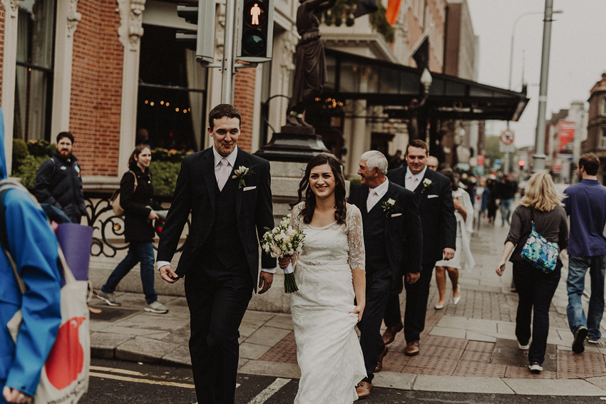 A small intimate wedding at The Shelbourne Hotel | Grainne & James 48