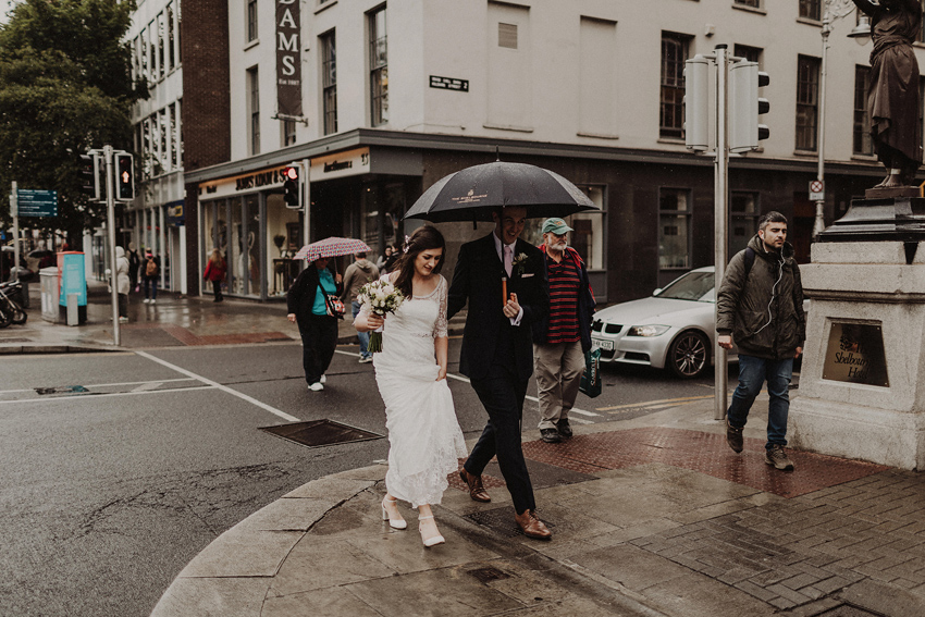 A small intimate wedding at The Shelbourne Hotel | Grainne & James 58