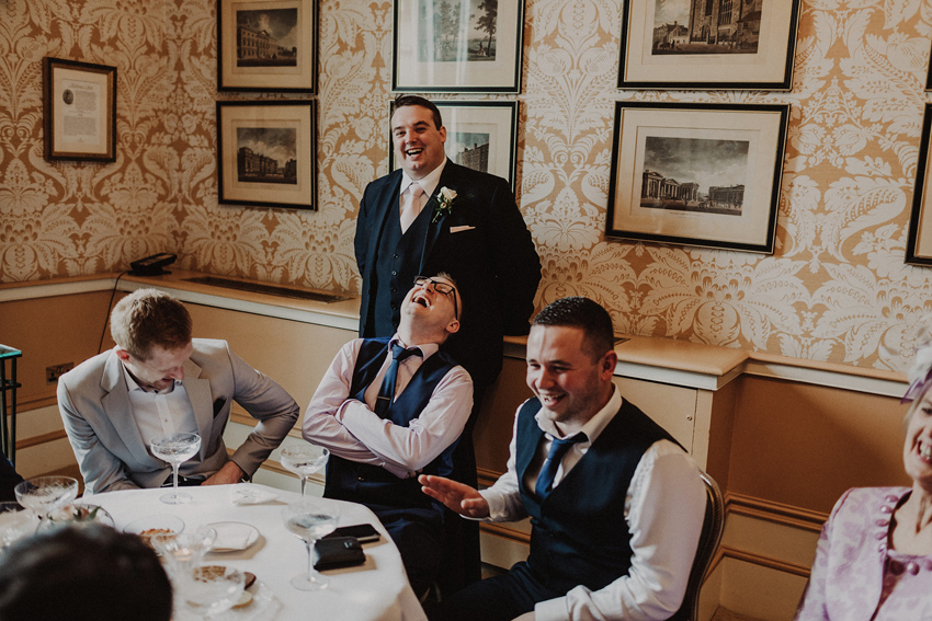 A small intimate wedding at The Shelbourne Hotel | Grainne & James 60