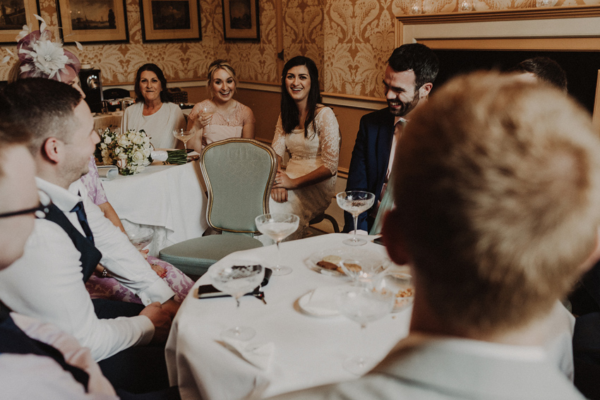 A small intimate wedding at The Shelbourne Hotel | Grainne & James 63
