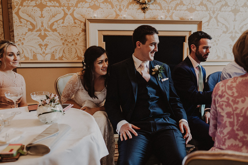 A small intimate wedding at The Shelbourne Hotel | Grainne & James 61
