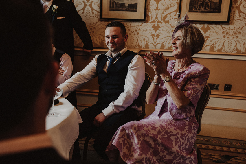 A small intimate wedding at The Shelbourne Hotel | Grainne & James 62