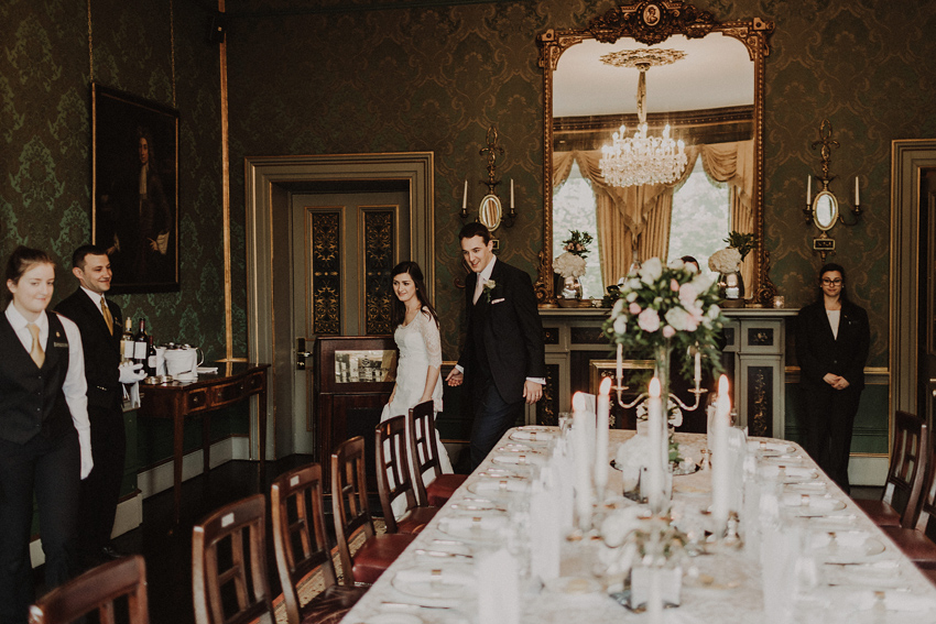 A small intimate wedding at The Shelbourne Hotel | Grainne & James 73