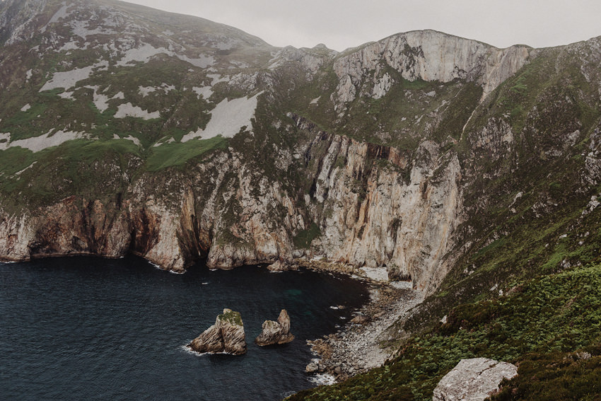 spectacular slieve league cliffs -photo from the view point