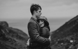 Spectacular photo shoot on Irish cliffs Slieve league