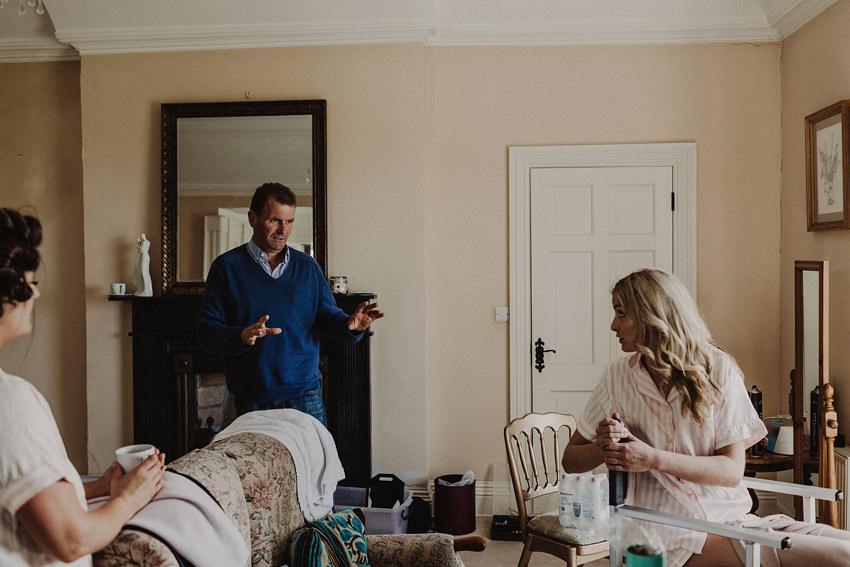 Summer wedding at Ballintaggart House - Dingle | Hazel and J.R. 13
