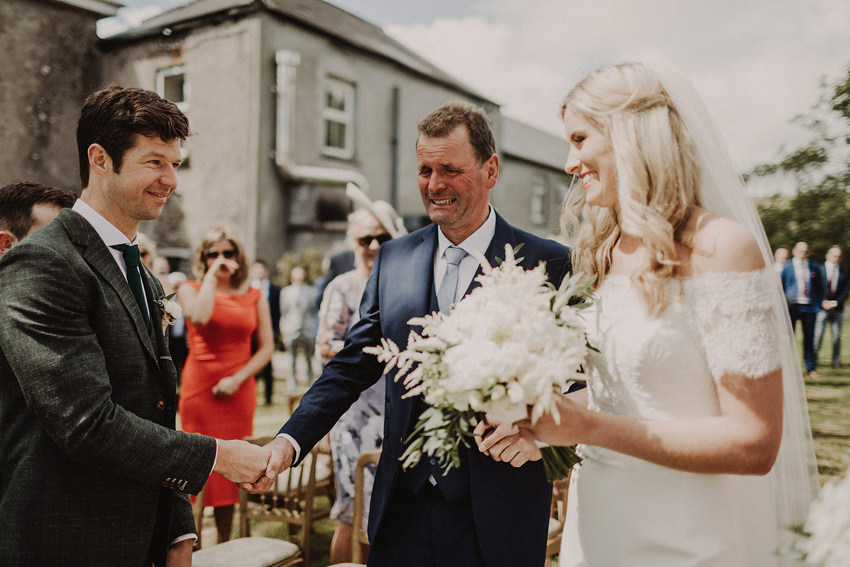 Summer wedding at Ballintaggart House - Dingle | Hazel and J.R. 75