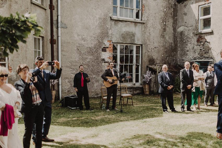 Summer wedding at Ballintaggart House - Dingle | Hazel and J.R. 76