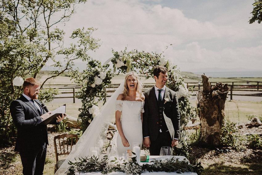 Summer wedding at Ballintaggart House - Dingle | Hazel and J.R. 84