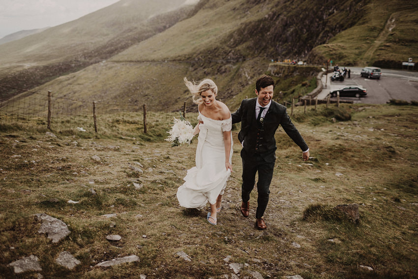 Summer wedding at Ballintaggart House - Dingle | Hazel and J.R. 93