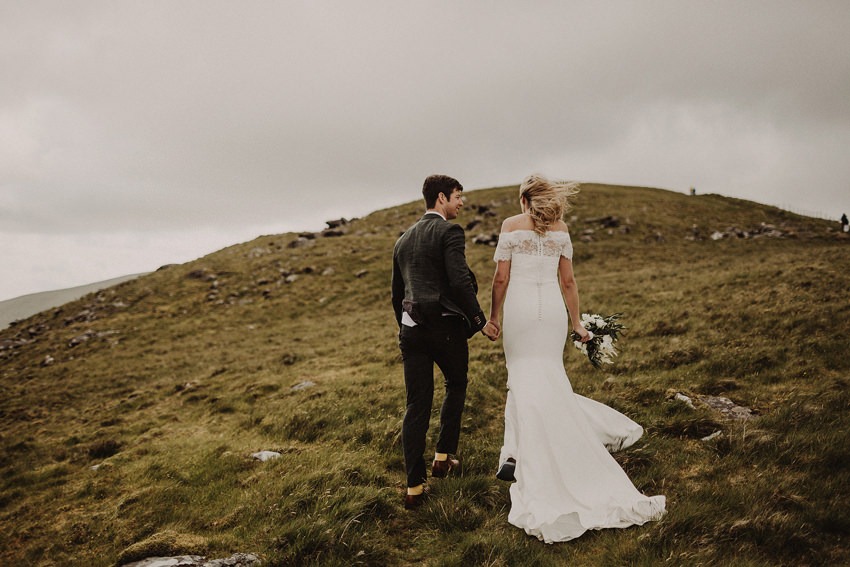 Summer wedding at Ballintaggart House - Dingle | Hazel and J.R. 96