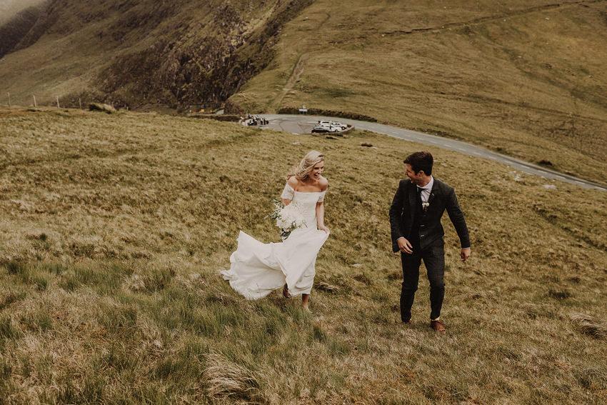 Summer wedding at Ballintaggart House - Dingle | Hazel and J.R. 97