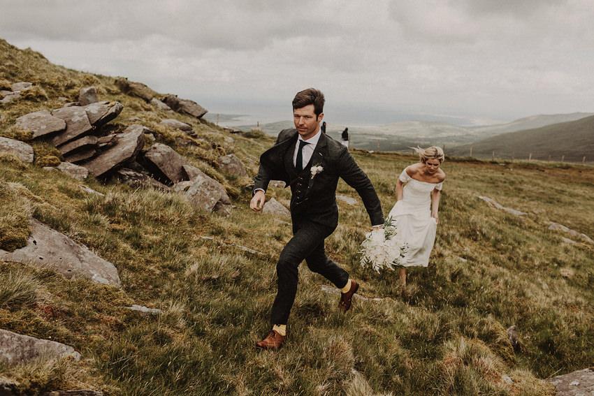 Summer wedding at Ballintaggart House - Dingle | Hazel and J.R. 98