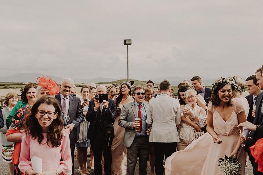 Summer wedding at Ballintaggart House - Dingle | Hazel and J.R. 109