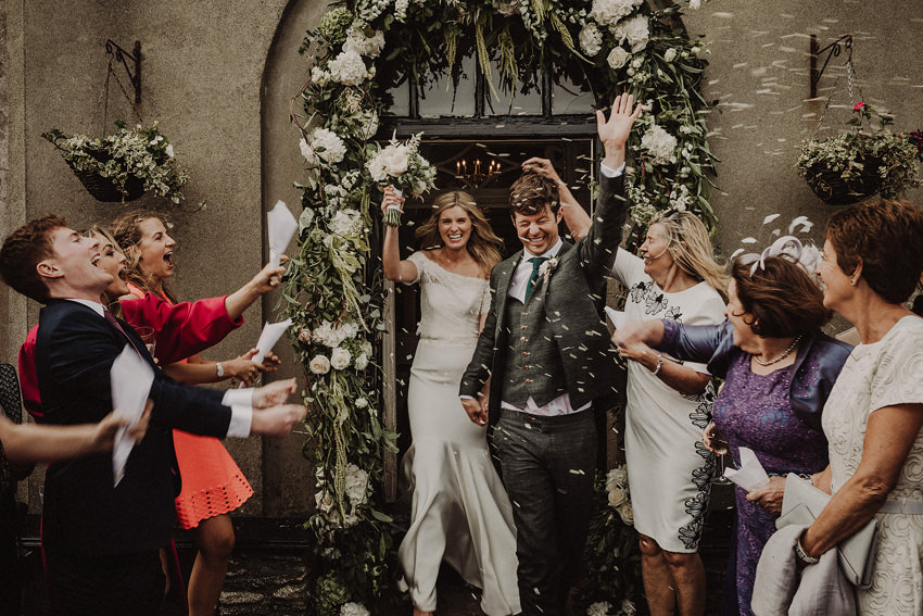 Summer wedding at Ballintaggart House - Dingle | Hazel and J.R. 110