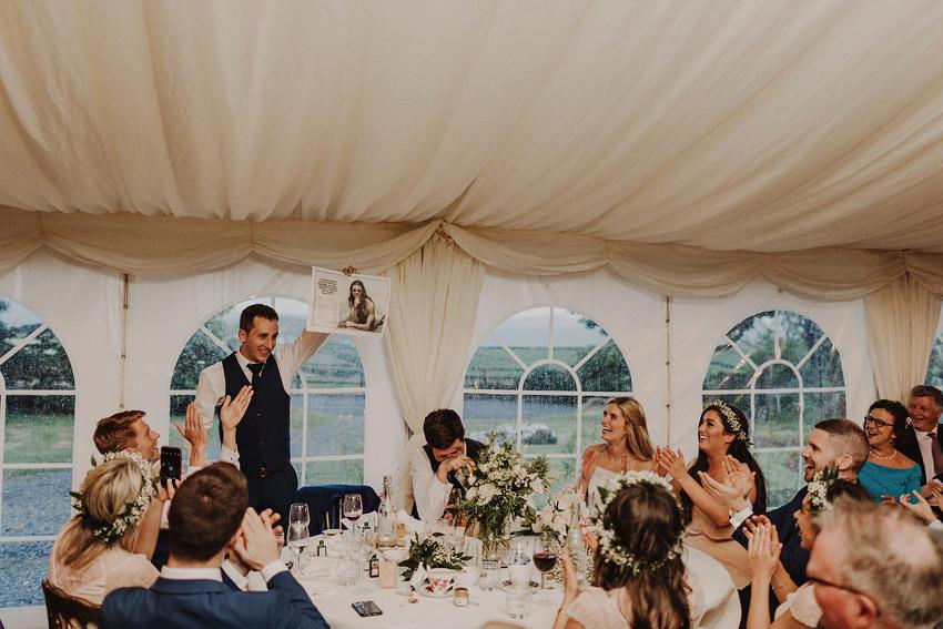 Summer wedding at Ballintaggart House - Dingle | Hazel and J.R. 120