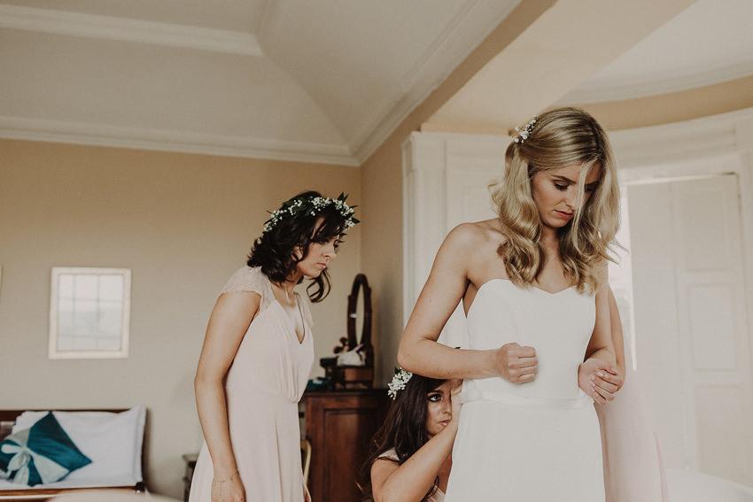 Summer wedding at Ballintaggart House - Dingle | Hazel and J.R. 57