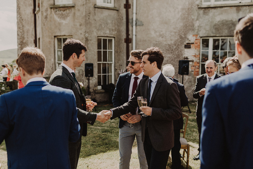 Summer wedding at Ballintaggart House - Dingle | Hazel and J.R. 88