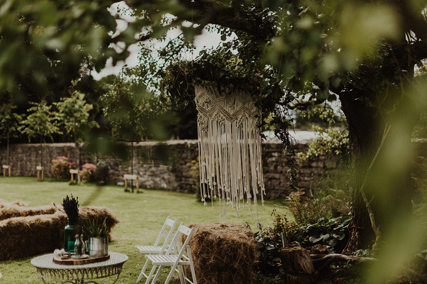 DIY outdoor wedding at Durhamstown Castle | Aisling & Javier 262