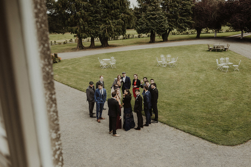 DIY outdoor wedding at Durhamstown Castle | Aisling & Javier 299