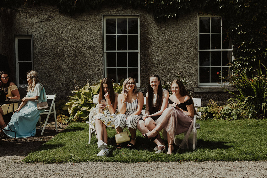 DIY outdoor wedding at Durhamstown Castle | Aisling & Javier 300