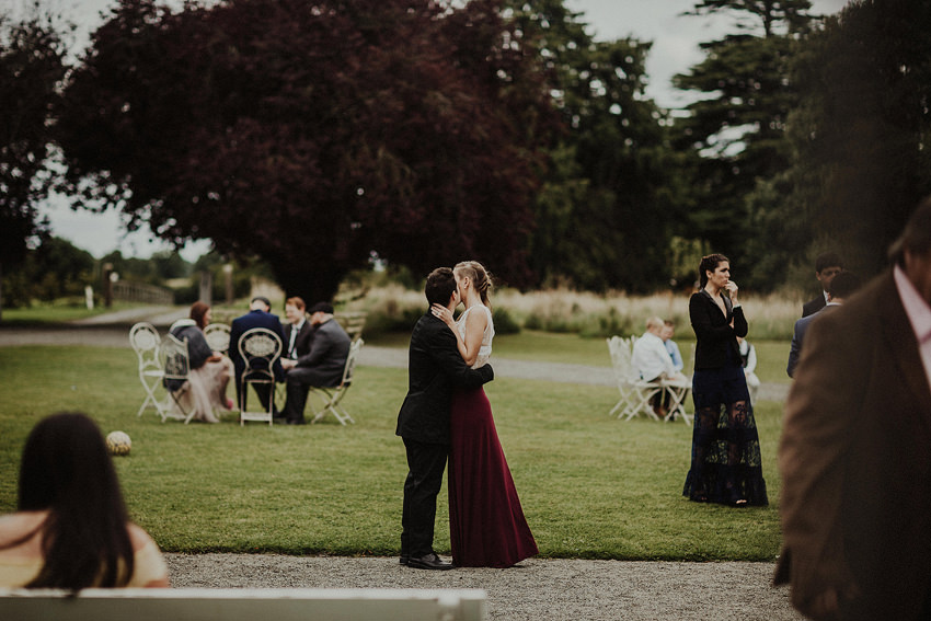 DIY outdoor wedding at Durhamstown Castle | Aisling & Javier 305
