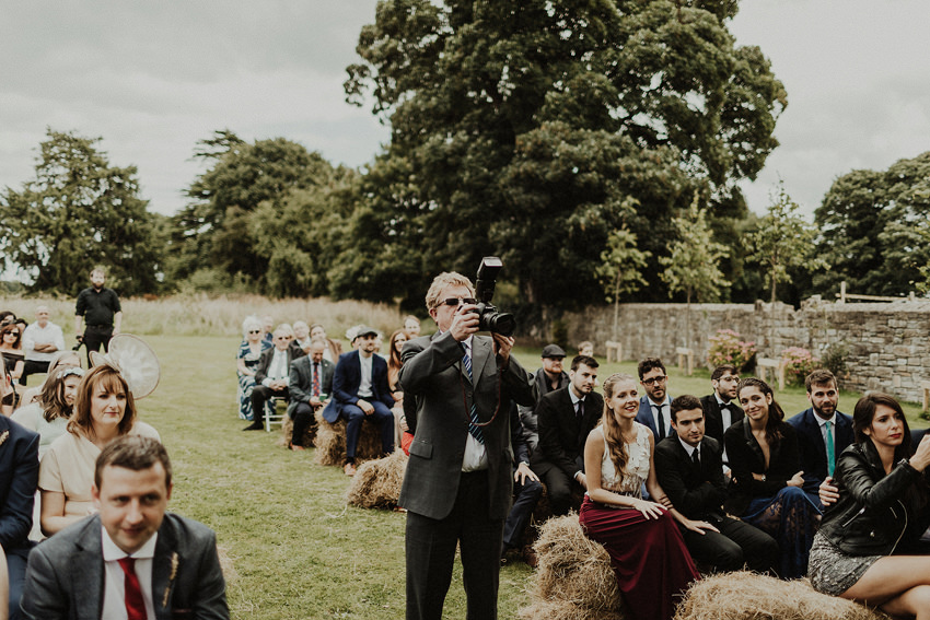 DIY outdoor wedding at Durhamstown Castle | Aisling & Javier 326