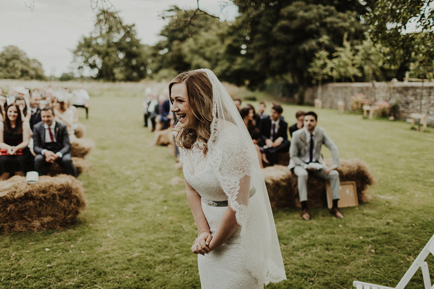 DIY outdoor wedding at Durhamstown Castle | Aisling & Javier 327