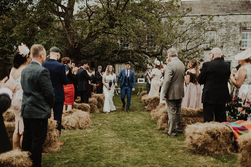 DIY outdoor wedding at Durhamstown Castle | Aisling & Javier 335