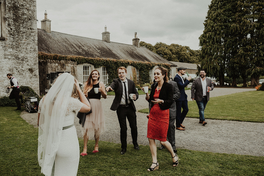 DIY outdoor wedding at Durhamstown Castle | Aisling & Javier 337