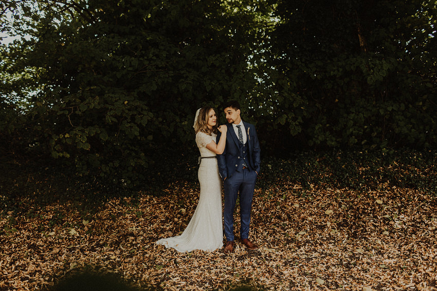 DIY outdoor wedding at Durhamstown Castle | Aisling & Javier 345