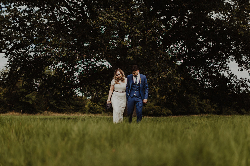 DIY outdoor wedding at Durhamstown Castle | Aisling & Javier 352