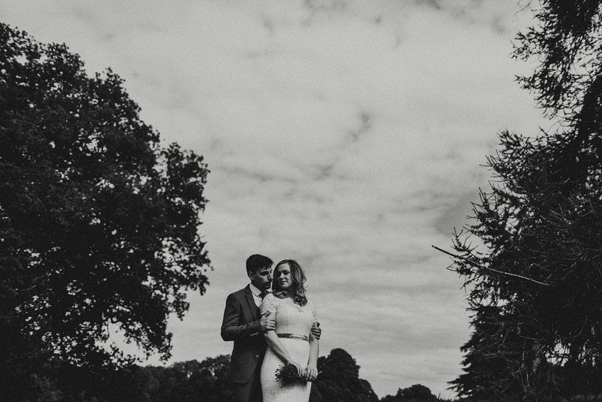 DIY outdoor wedding at Durhamstown Castle | Aisling & Javier 353