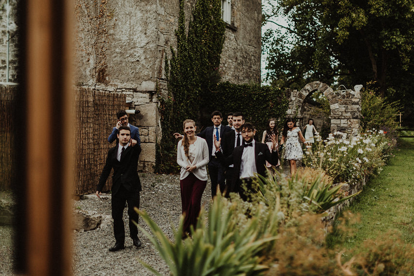 DIY outdoor wedding at Durhamstown Castle | Aisling & Javier 371