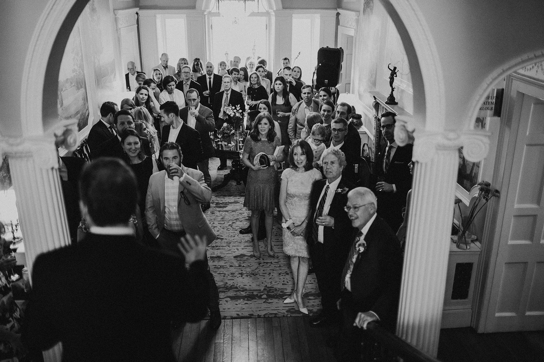 speeches at mount juliet on the stairs