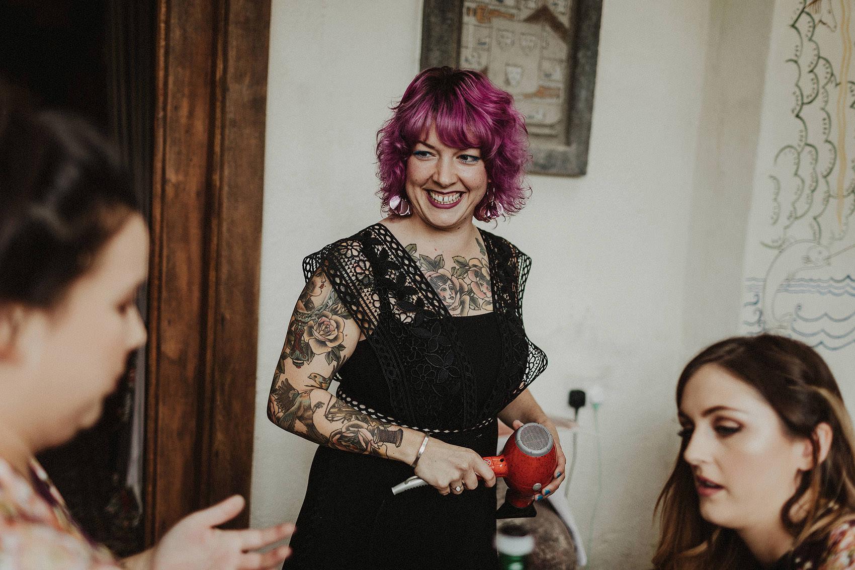 Huntington Castle & Gardens wedding | Ruth & Jason 10