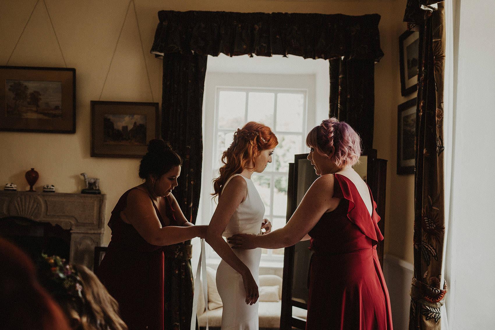 Huntington Castle & Gardens wedding | Ruth & Jason 48
