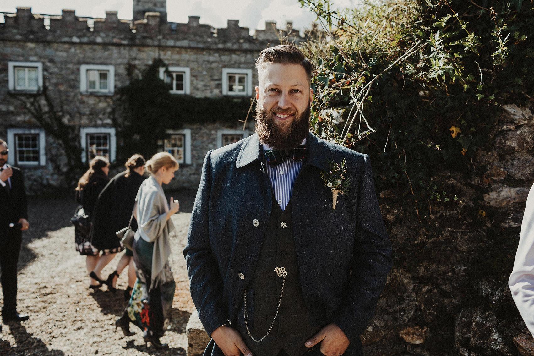 Huntington Castle & Gardens wedding | Ruth & Jason 70