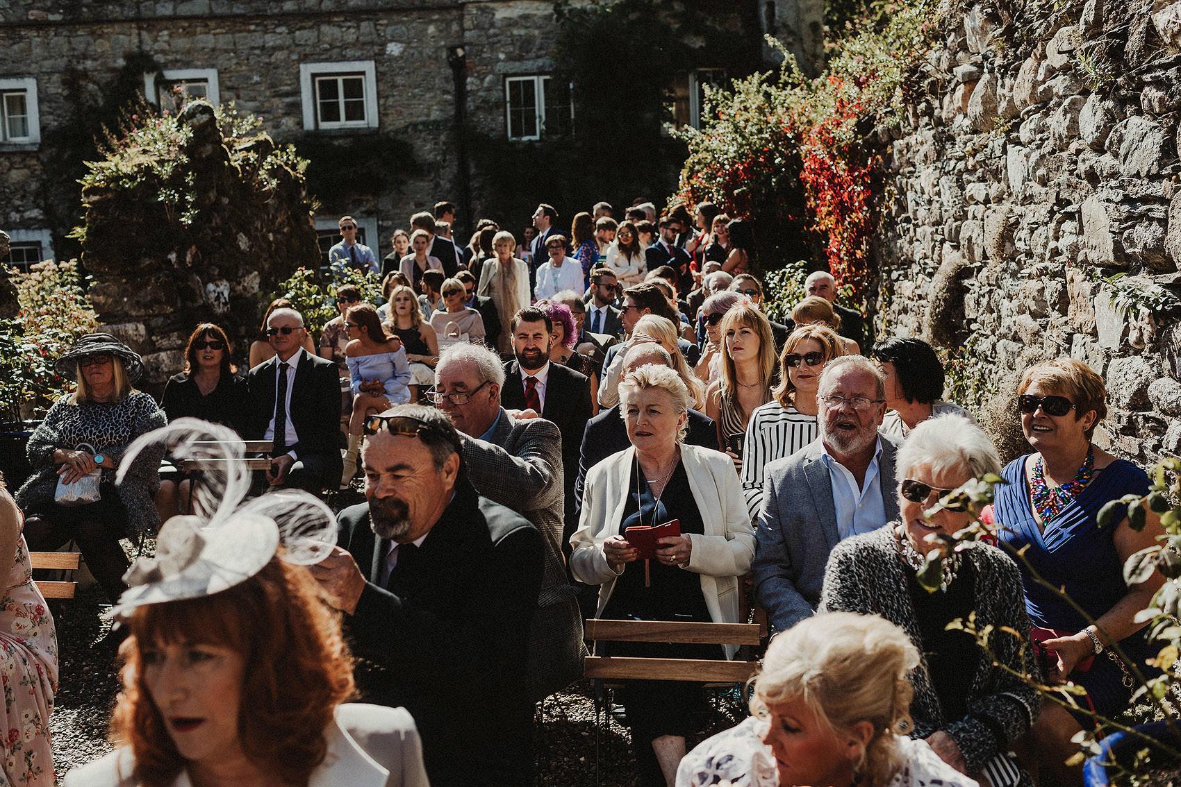 Huntington Castle & Gardens wedding | Ruth & Jason 73