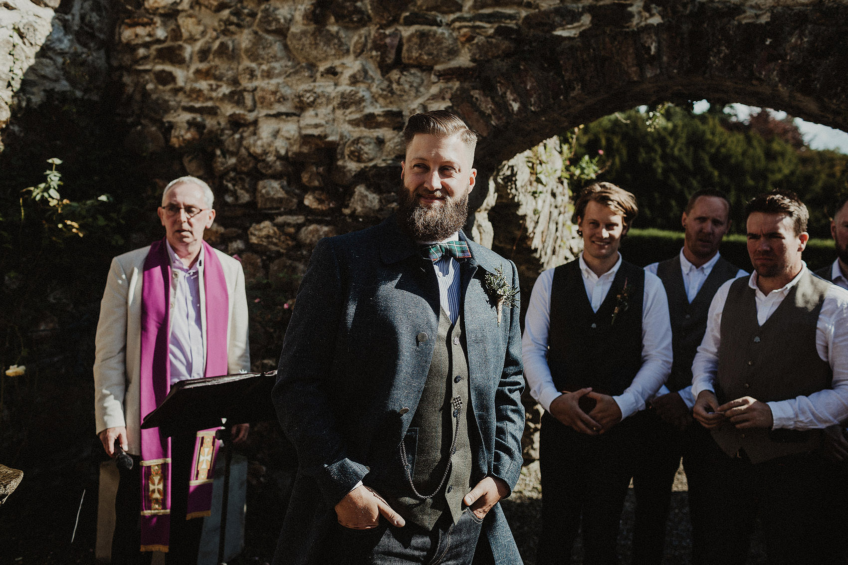Huntington Castle & Gardens wedding | Ruth & Jason 74