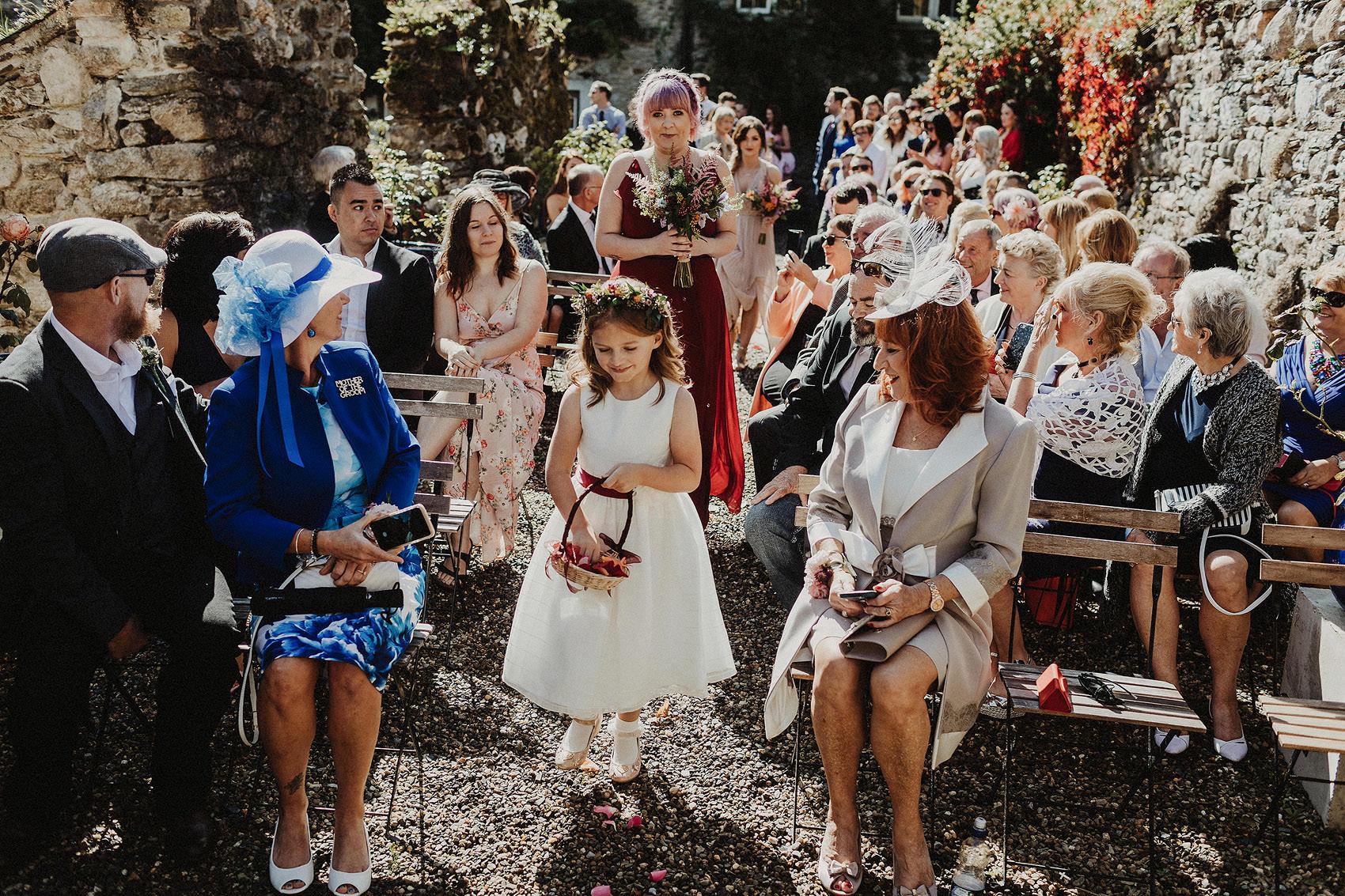 Huntington Castle & Gardens wedding | Ruth & Jason 75