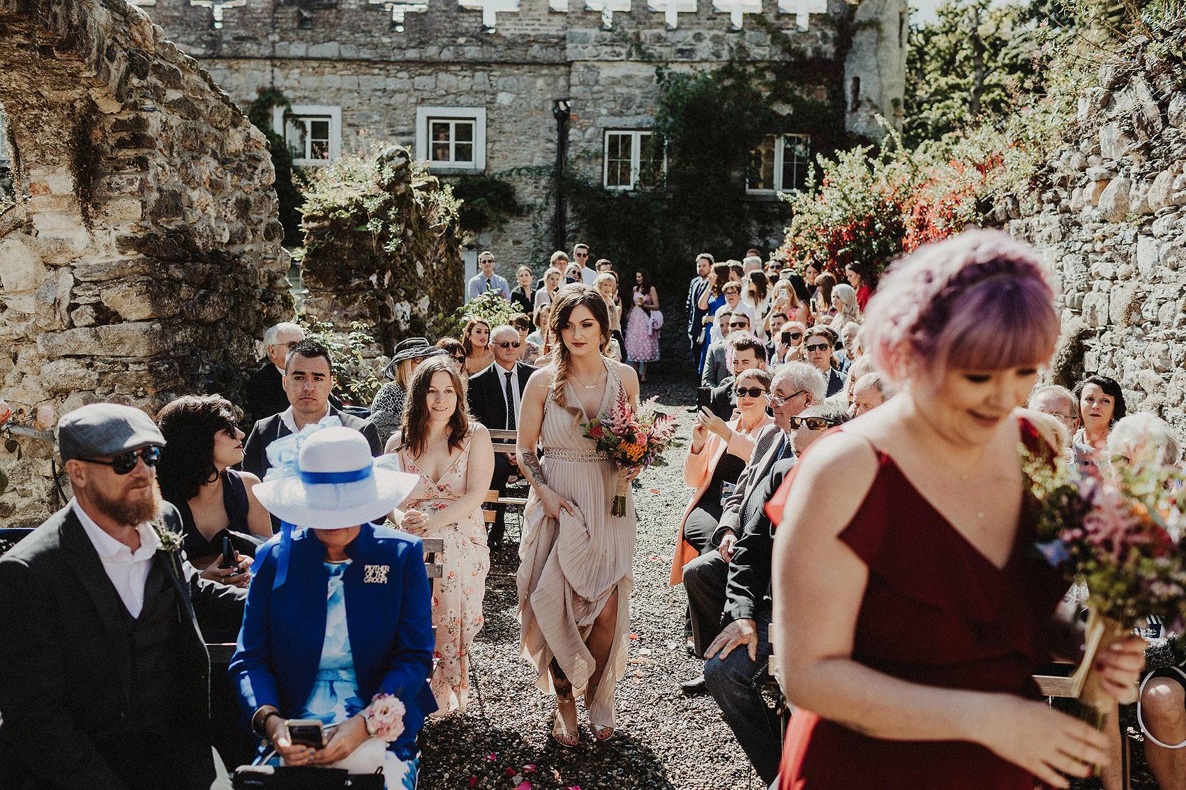 Huntington Castle & Gardens wedding | Ruth & Jason 76