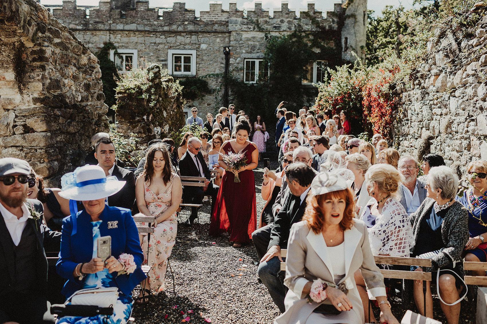 Huntington Castle & Gardens wedding | Ruth & Jason 77
