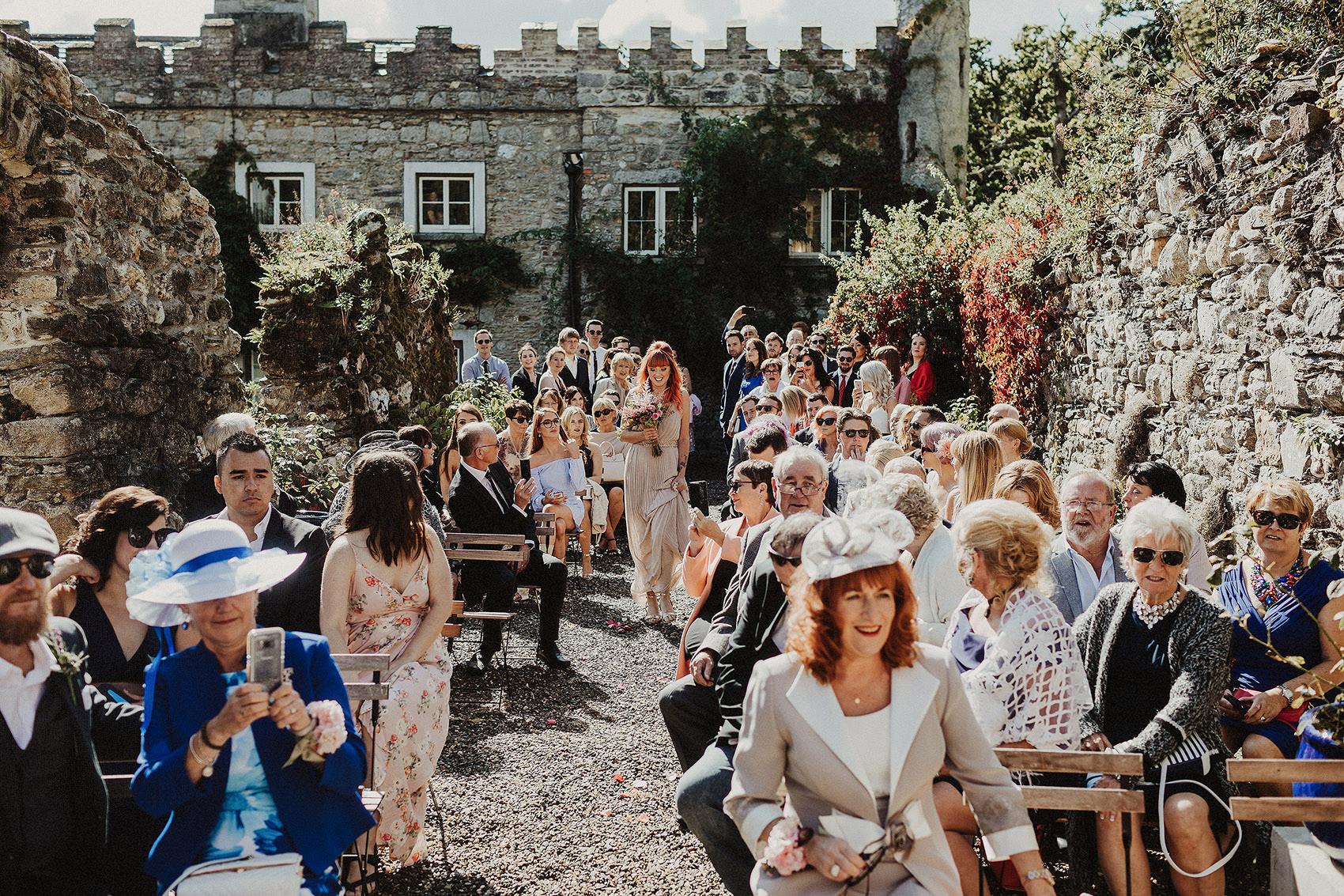 Huntington Castle & Gardens wedding | Ruth & Jason 78