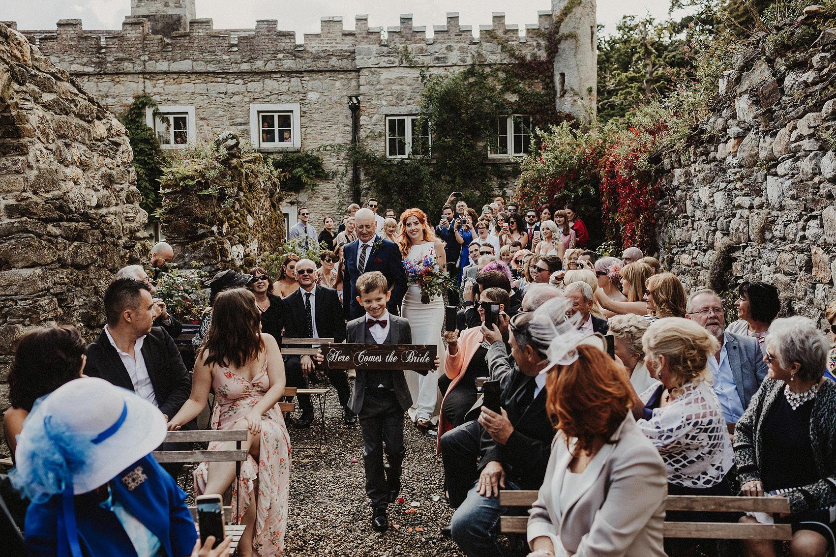 Huntington Castle & Gardens wedding | Ruth & Jason 81